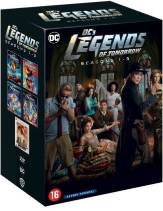 DC's Legends of Tomorrow - Saison 1-5 (18 DVD)