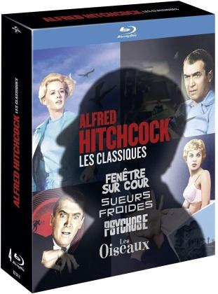 Alfred Hitchcock - Les Classiques - Fenêtre sur cour / Sueurs froides / Psychose / Les Oiseaux (4 Blu-rays)