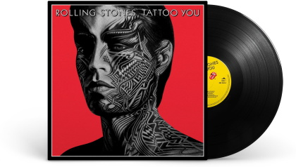 The Rolling Stones - Tattoo You (2021 Reissue, Black Vinyl, 40th Anniversary Edition, Remastered, LP)
