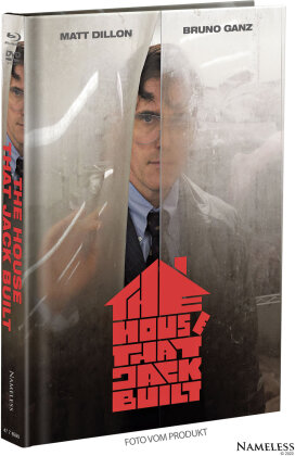 The House That Jack Built (2018) (Cover A, Limited Edition, Mediabook, Blu-ray + DVD)