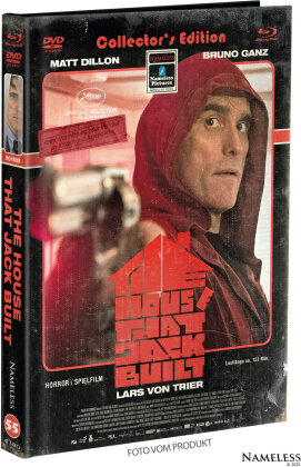 The House That Jack Built (2018) (Cover C, Limited Edition, Mediabook, Blu-ray + DVD)