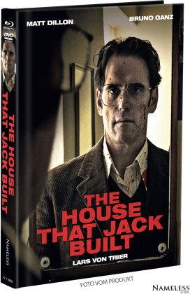 The House That Jack Built (2018) (Cover B, Limited Edition, Mediabook, Blu-ray + DVD)