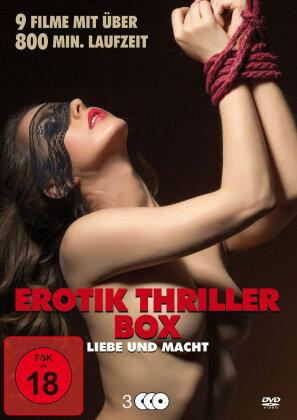 Erotik Thriller Box - Liebe und Macht (3 DVDs)