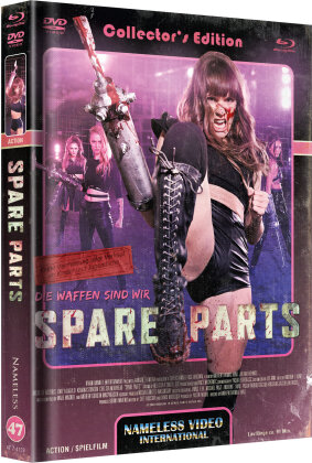 Spare Parts (2020) (Cover C, Limited Edition, Mediabook, Blu-ray + DVD)