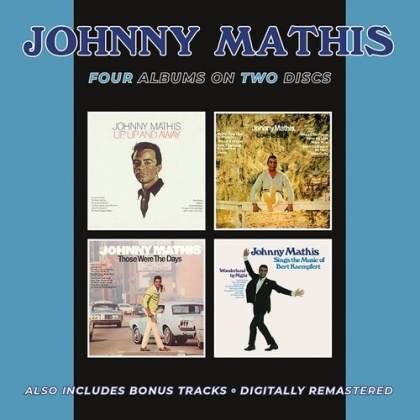Johnny Mathis - Up Up & Away / Love Is Blue / Those Were The Days (BGO, 2 CDs)