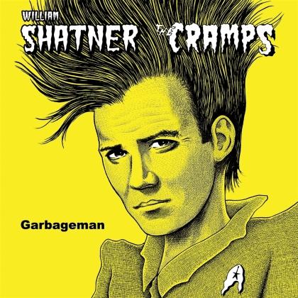 """William Shatner & The Cramps - Garbageman (12"""" Maxi)"""
