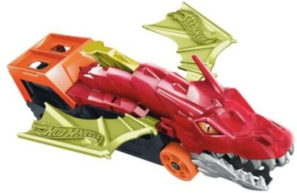 Hot Wheels - Hw Dragon Launch Transporter Playset