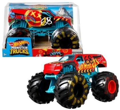 Hot Wheels Monster Truck - Hw Monster Truck 1:24 Demo Derby