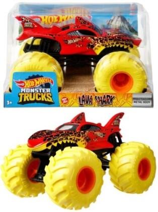 Hot Wheels Monster Truck - Hw Monster Truck 1:24 Lava Shark