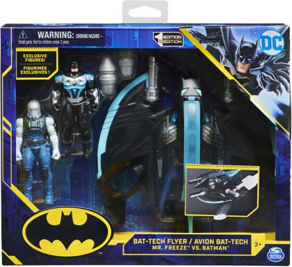 BAT Batman Bat-Wing mit 2 10cm Figuren