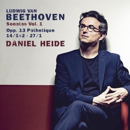 Daniel Heide, Ludwig van Beethoven (1770-1827) & Sheva Tehoval - Sonatas Vol. 1