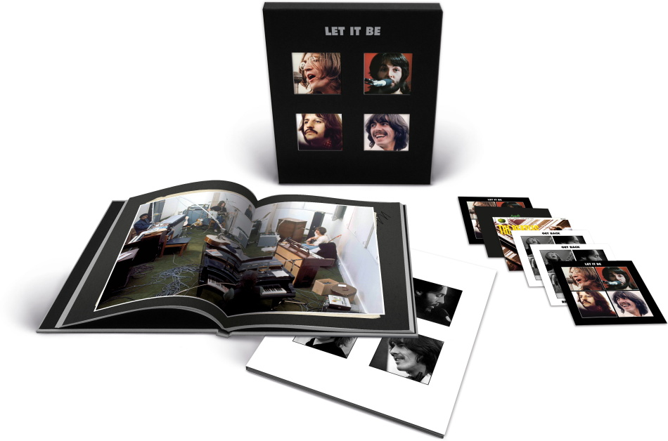 The Beatles - Let It Be (2021 Reissue, Boxset, 5 CDs + Blu-ray + Buch)