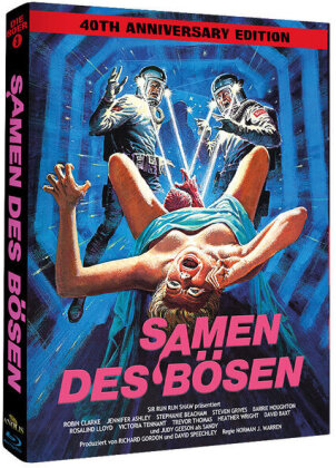 Samen des Bösen (1981) (Wattiert, Phantastische Filmklassiker, Limited Edition, Mediabook, Uncut)