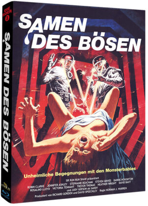 Samen des Bösen (1981) (Cover A, Phantastische Filmklassiker, Limited Edition, Mediabook, Uncut)