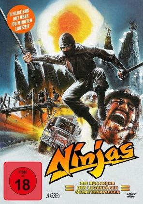 Ninjas - Die Rückkehr der legendären Schattenkrieger (3 DVDs)