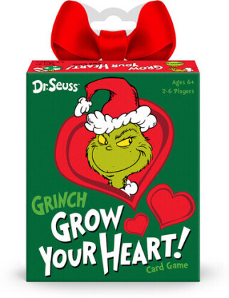 Funko Signature Games: - Dr. Seuss Grinch Grow Your Heart Game