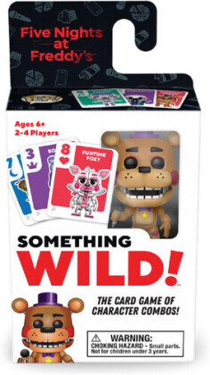 Funko Signature Games: - Something Wild! Five Nights At Freddy's Card Game