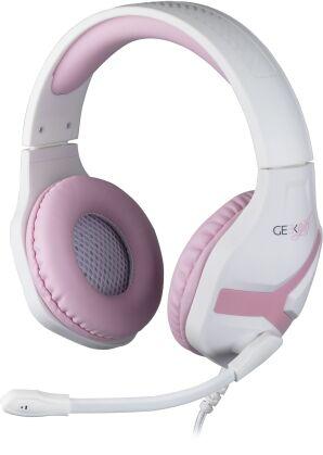 KONIX - Universal Gaming Headset GEEK GIRL - crystal (PlayStation 5 + Xbox Series X)