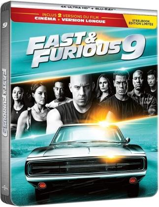 Fast & Furious 9 (2021) (Steelbook, 4K Ultra HD + Blu-ray)