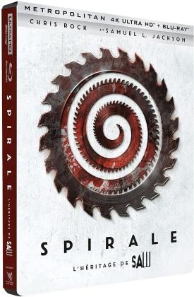 Spirale - L'héritage de Saw (2021) (Limited Edition, Steelbook, 4K Ultra HD + Blu-ray)