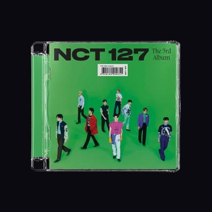 Nct 127 (K-Pop) - Sticker (Jewelcase)