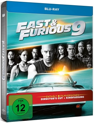 Fast & Furious 9 (2021) (Director's Cut, Kinoversion, Limited Edition, Steelbook)