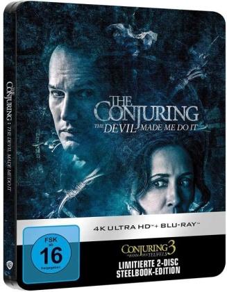 Conjuring 3 - Im Bann des Teufels (2021) (Limited Edition, Steelbook, 4K Ultra HD + Blu-ray)