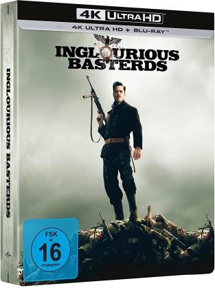 Inglourious Basterds (2009) (Limited Edition, Steelbook, 4K Ultra HD + Blu-ray)