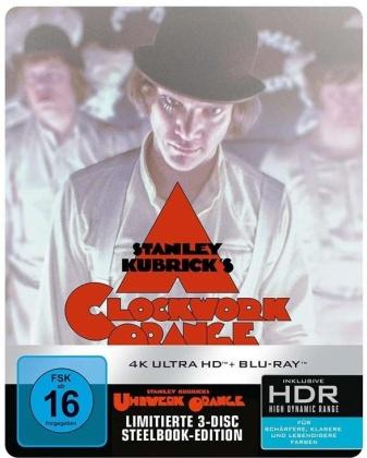 Clockwork Orange (1971) (Limited Edition, Steelbook, 4K Ultra HD + Blu-ray)