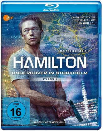 Hamilton - Undercover in Stockholm - Staffel 1 (Uncut, 2 Blu-ray)