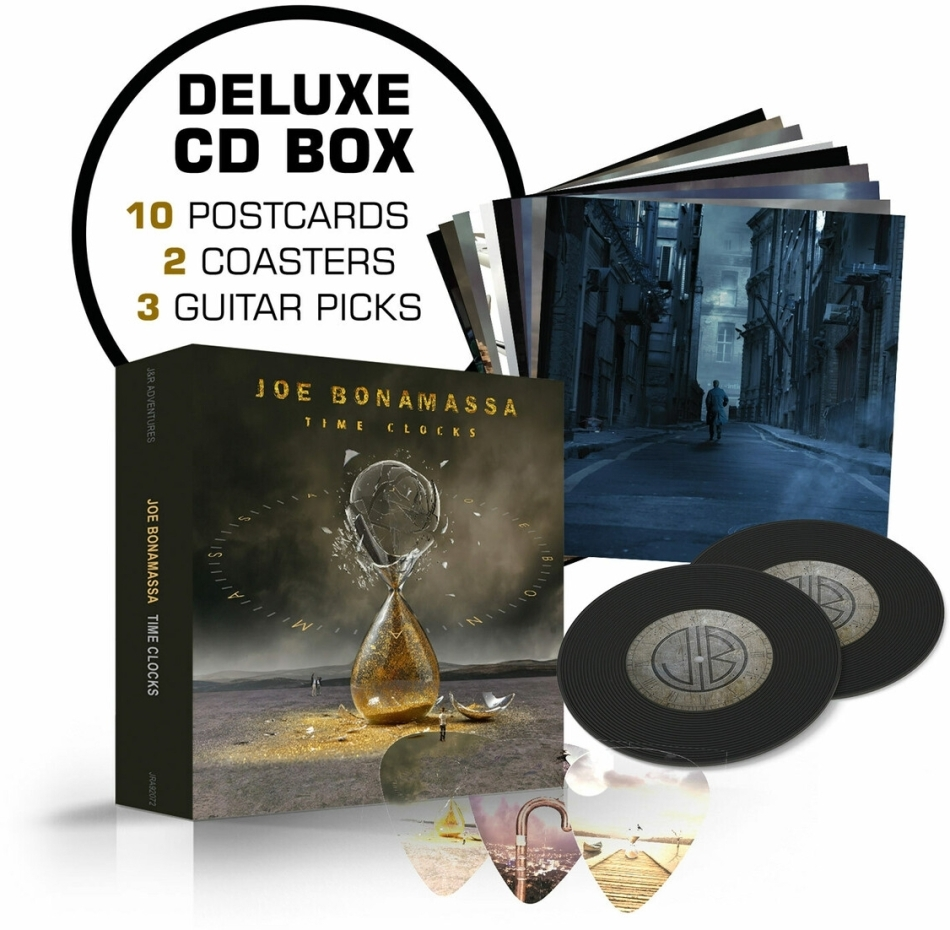Joe Bonamassa - Time Clocks (Deluxe Edition, 2 CDs)