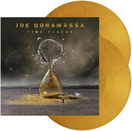 Joe Bonamassa - Time Clocks (Limited Edition, Gold Vinyl, 2 LPs)