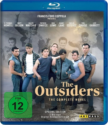The Outsiders - The Complete Novel (1983) (Digital Restauriert, Special Edition, 2 Blu-rays)