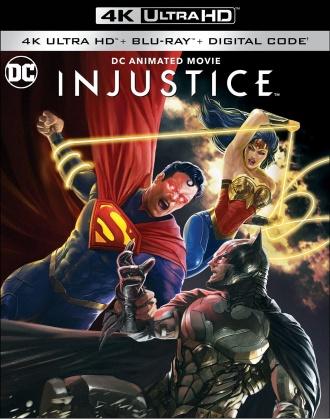 Injustice (2021) (4K Ultra HD + Blu-ray)