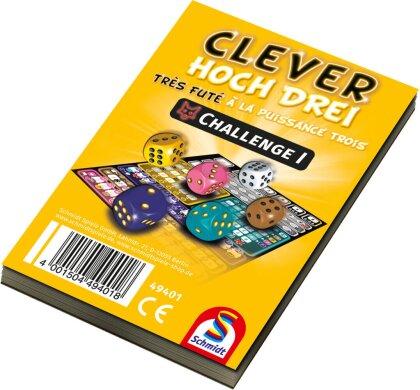 Clever hoch Drei - Challenge Block (Spiel-Zubehör)