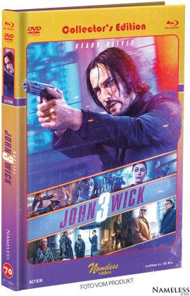 John Wick 3 - Parabellum (2019) (Cover C, Limited Edition, Mediabook, Blu-ray + DVD)