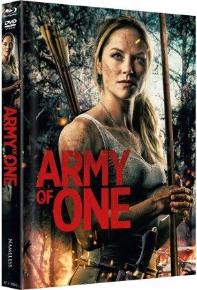 Army of One (2020) (Cover A, Edizione Limitata, Mediabook, Uncut, Blu-ray + DVD)