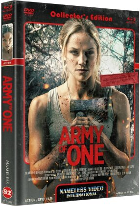 Army of One (2020) (Cover C, Limited Edition, Mediabook, Uncut, Blu-ray + DVD)