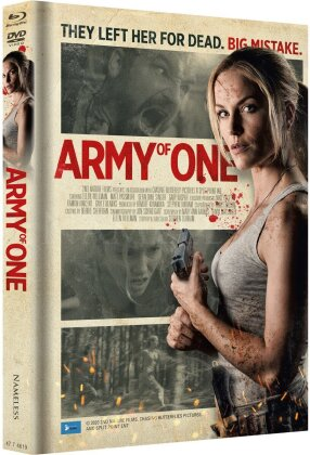 Army of One (2020) (Cover B, Limited Edition, Mediabook, Uncut, Blu-ray + DVD)