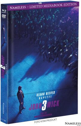 John Wick 3 - Parabellum (2019) (Cover A, Edizione Limitata, Mediabook, Blu-ray + DVD)