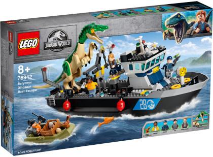 Flucht des Baryonyx - Lego Jurassic World,