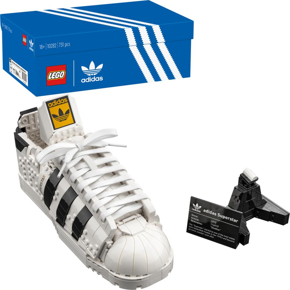 Lego Adidas Originals Superstar (10282) - 730 Teile