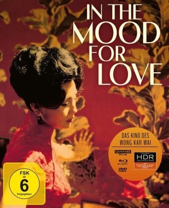 In the Mood for Love (2000) (Special Edition, 4K Ultra HD + Blu-ray + DVD)