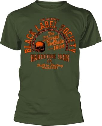 Black Label Society - Hardcore Iron (Military Green)
