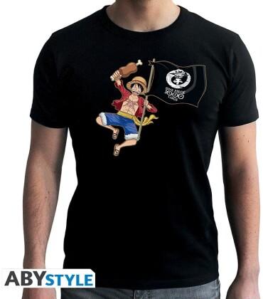 One Piece: Luffy 1000 Logs - T-Shirt