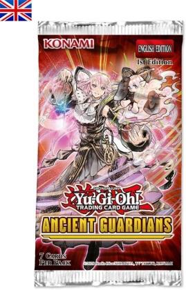JCC - Booster sous blister - Ancient Guardians - Yu-Gi-Oh! x20 (EN)