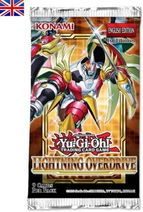 JCC - Booster sous blister - Lightning Overdrive - Yu-Gi-Oh! x20 (EN)