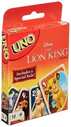 UNO - Le Roi Lion - Import US - 14.5 cm
