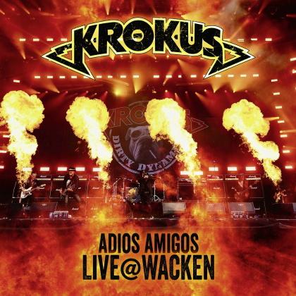 Krokus - Adios Amigos Live @ Wacken (Strictly Limited, Orange Vinyl, 2 LPs)