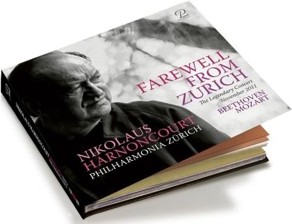 Nikolaus Harnoncourt & Philharmonia Zürich - Farewell From Zurich (2 CDs)